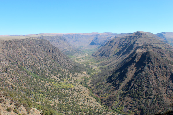 Big Indian Gorge, Steens Mountain