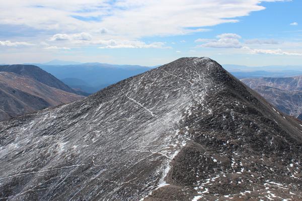 Grays Peak from Torreys Peak