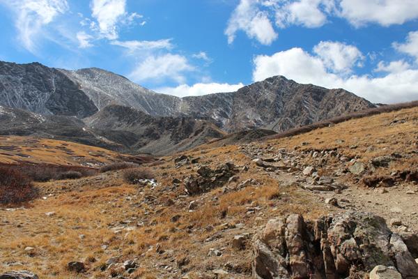 Grays Peak and Torreys Peak, Front Range, Colorado