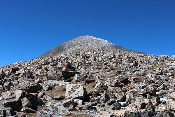 Quandary Peak, Tenmile-Mosquito Range, Colorado