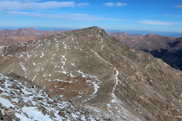 Torreys Peak from Grays Peak