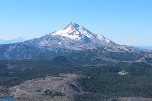 Mount Jefferson from Olallie Butte