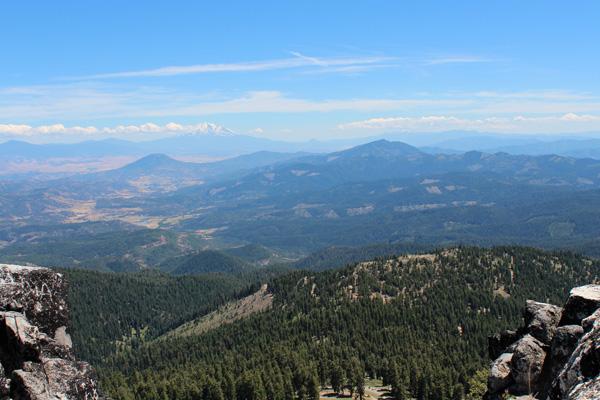 Mount Shasta from Mount Ashland
