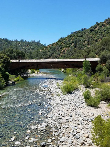South Yuba River and Covered Bridge (Linda)