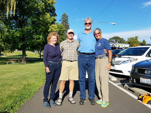 A special reunion with Wayne and Louise Worby while in Naches (Linda)