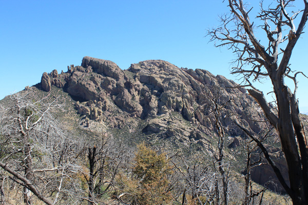 Cochise Head from the traverse to Woods Canyon Saddle