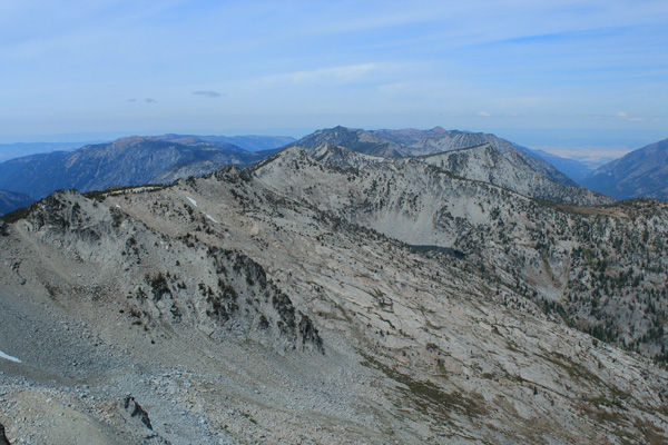 North from Elkhorn Peak summit