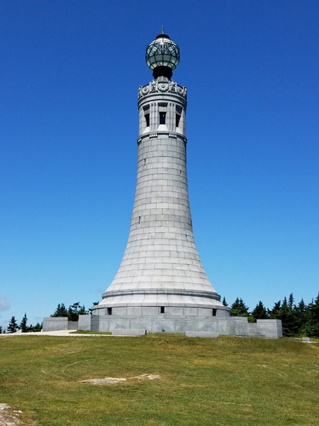 The Mount Greylock summit war memorial
