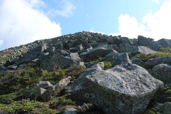 Abol Trail boulder field, Mount Katahdin