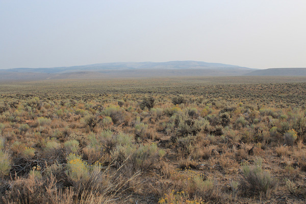 Wagontire Mountain from near US 395 just south of Wagontire, Oregon