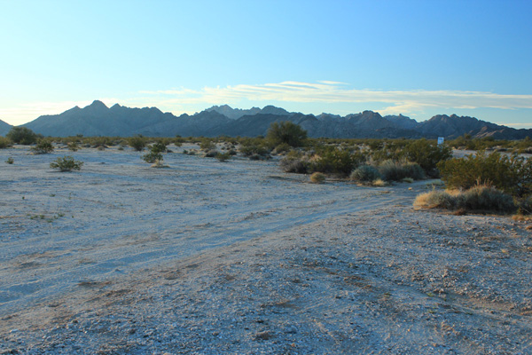 The Cabeza Prieta Mountains from the CPNWR northern boundary