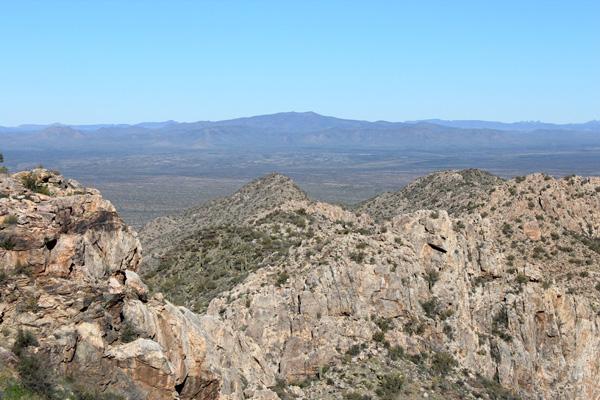 Cimarron Peak from Rabia Benchmark