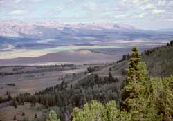 Sawtooth Range from Galena Overlook