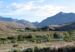 Ranch along the Salmon River