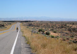 Bicycling on the Snake River Plateau