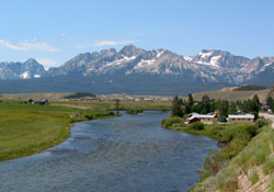 Salmon River, Stanley, and the Sawtooths