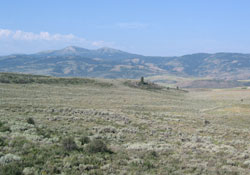 South of Soda Springs, Idaho