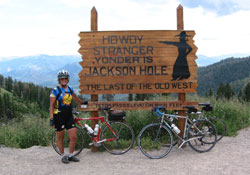 Teton Pass: It's downhill from here!