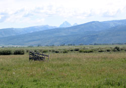 Grand Teton from near Victor, Idaho