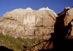 Zion's Beehives and the Streaked Wall