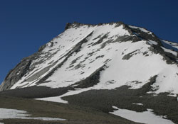 Mount Tyndall from Shepherd Pass