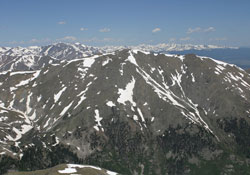 Mount Oxford from Mount Harvard