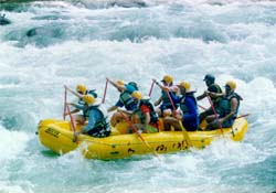 Rafting on the Rio Picuare