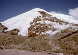 Chimborazo from lower hut