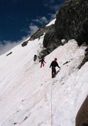Traverse - Early Season Descent