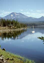 Elk Lake and South Sister