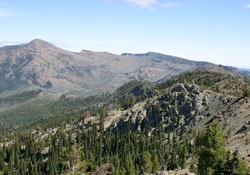 View East from Pine Creek Mountain, East Peak