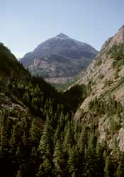 Canyon above Ouray