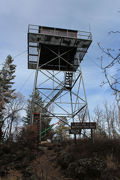 The Hutch Mountain Lookout