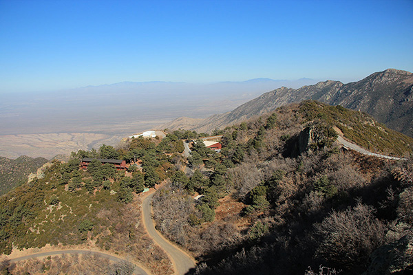 The Tucson Basin to the north from the FLWO