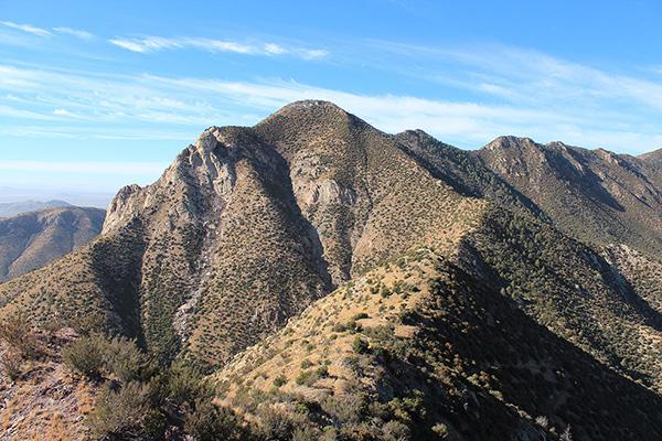 Montezuma Peak from the East