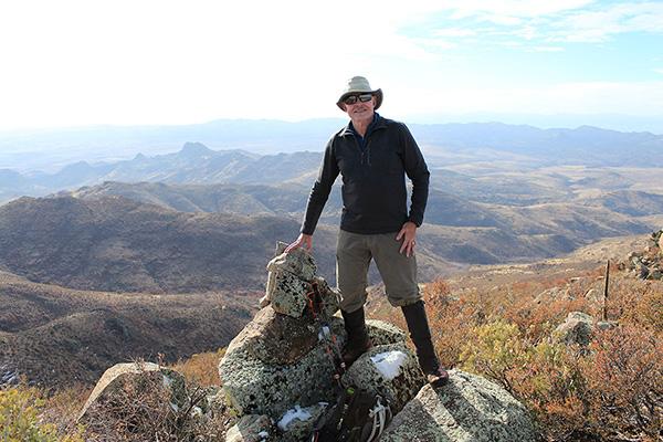 Paul on the Mohon Peak summit